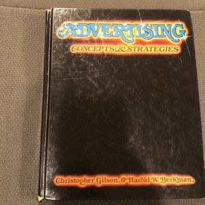 Advertising Concepts & Strategies hardcover